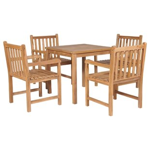 Wiley Dining Set With 4 Chairs By Gracie Oaks