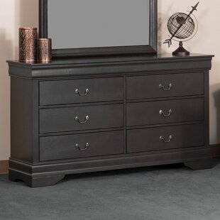 Metrodora Bedroom 6 Drawer Double Dresser