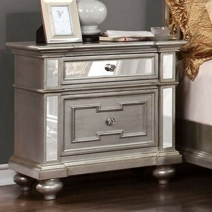Amberly 2 Drawer Nightstand