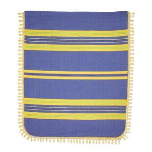 Novica Hand-Woven Cotton King Bedspread