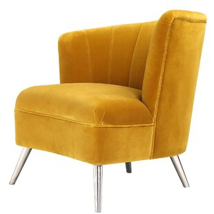 Commodore Slipper Chair by Everly Quinn