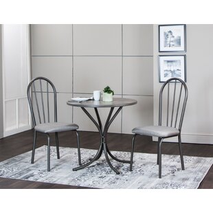 Charmant Brigitte 3 Piece Dining Set