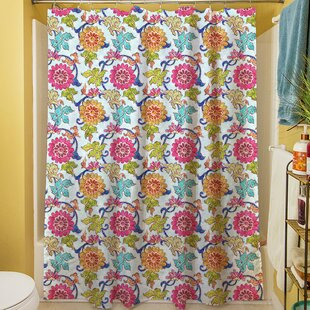 Shangri La Leaves Single Shower Curtain