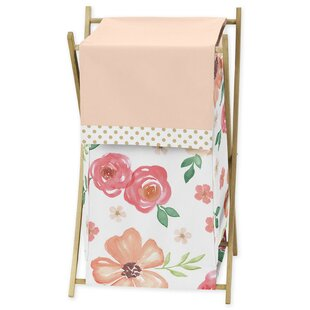 Searching for Watercolor Floral 3 Piece Laundry Hamper Set By Sweet Jojo Designs
