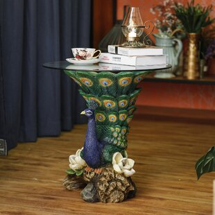 Rich Peacock End Table