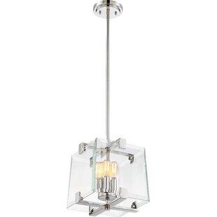 Orren Ellis Jennell 4-Light Square/Rectangle Pendant