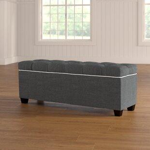 Roessler Upholstered Shoe Storage Bench by Red Barrel Studio
