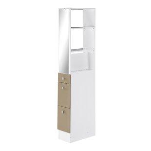 24.3 X 180cm Free Standing Tall Bathroom Cabinet By Mercury Row