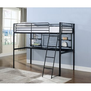 Wenham Contemporary Twin Bunk Configuration Bed with Workstation