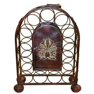 Natalya Metal 13 Floor Wine Bottle Rack b..