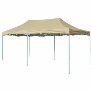 6m X 3m Steel Pop-Up Party Tent By Freeport Park