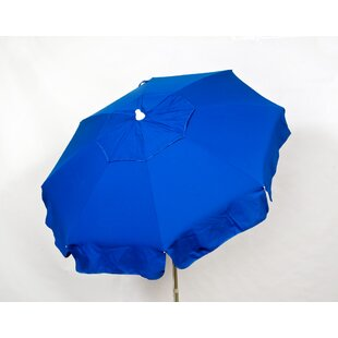 Italian 6' Beach Umbrella by Parasol 2019 Sale