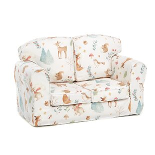 Fewell Animal Camp Autumn Children's Sofa By Zoomie Kids