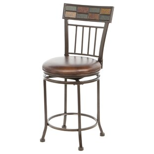 Madhavan 24 Swivel Bar Stool