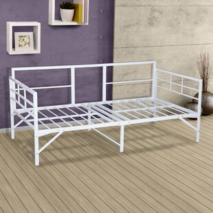Zella Easy Set Up Metal Daybed Frame by Zipcode Design