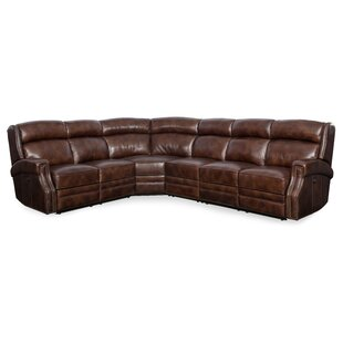 Great choice Carlisle Leather Reclining Sectional by Hooker Furniture Reviews (2019) & Buyer's Guide