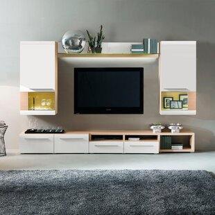 Great Price Clarksville Wall Unit Enterntainment Center for TVs up to 70 by Corrigan Studio Reviews (2019) & Buyer's Guide