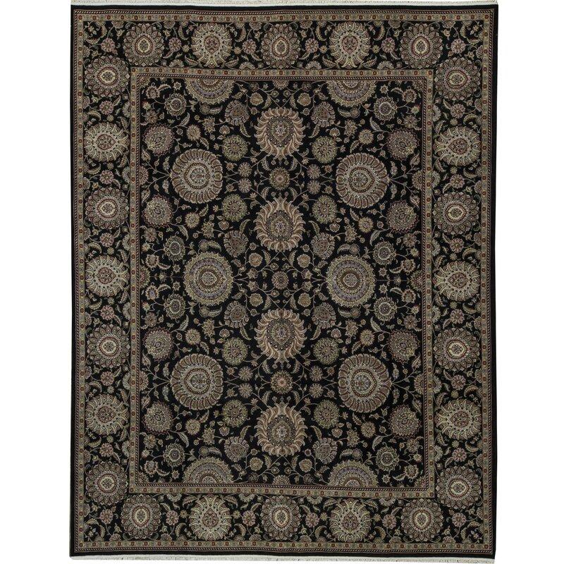 Bokara Rug Co Inc One Of A Kind Manchuria Handwoven 11 9 X 14 9 Wool Beige Black Area Rug Wayfair
