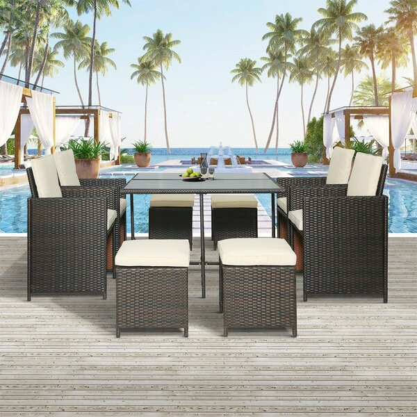Outdoor Cafe Table Set