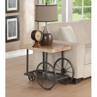Leonia End Table By Gracie Oaks