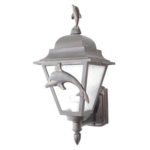 Great choice Penfield 1-Light Outdoor Sconce By Alcott Hill