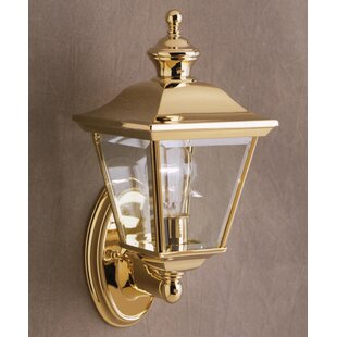 Affordable Price Bellana 1-Light Outdoor Wall Lantern By Astoria Grand