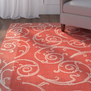Herefordshire Red/Brown/Tan Indoor/Outdoor Area Rug