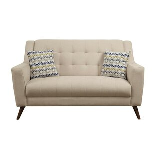 Shop Bodie Upholstered Tufted Loveseat by George Oliver