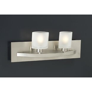 Latitude Run Selzer 2-Light Vanity Light