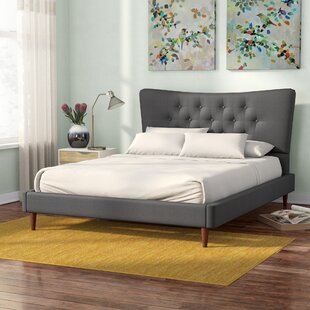 Mizuno Upholstered Platform Bed by Latitude Run