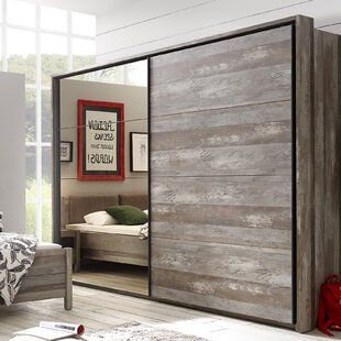 Roma 2 Door Sliding Wardrobe By Mercury Row