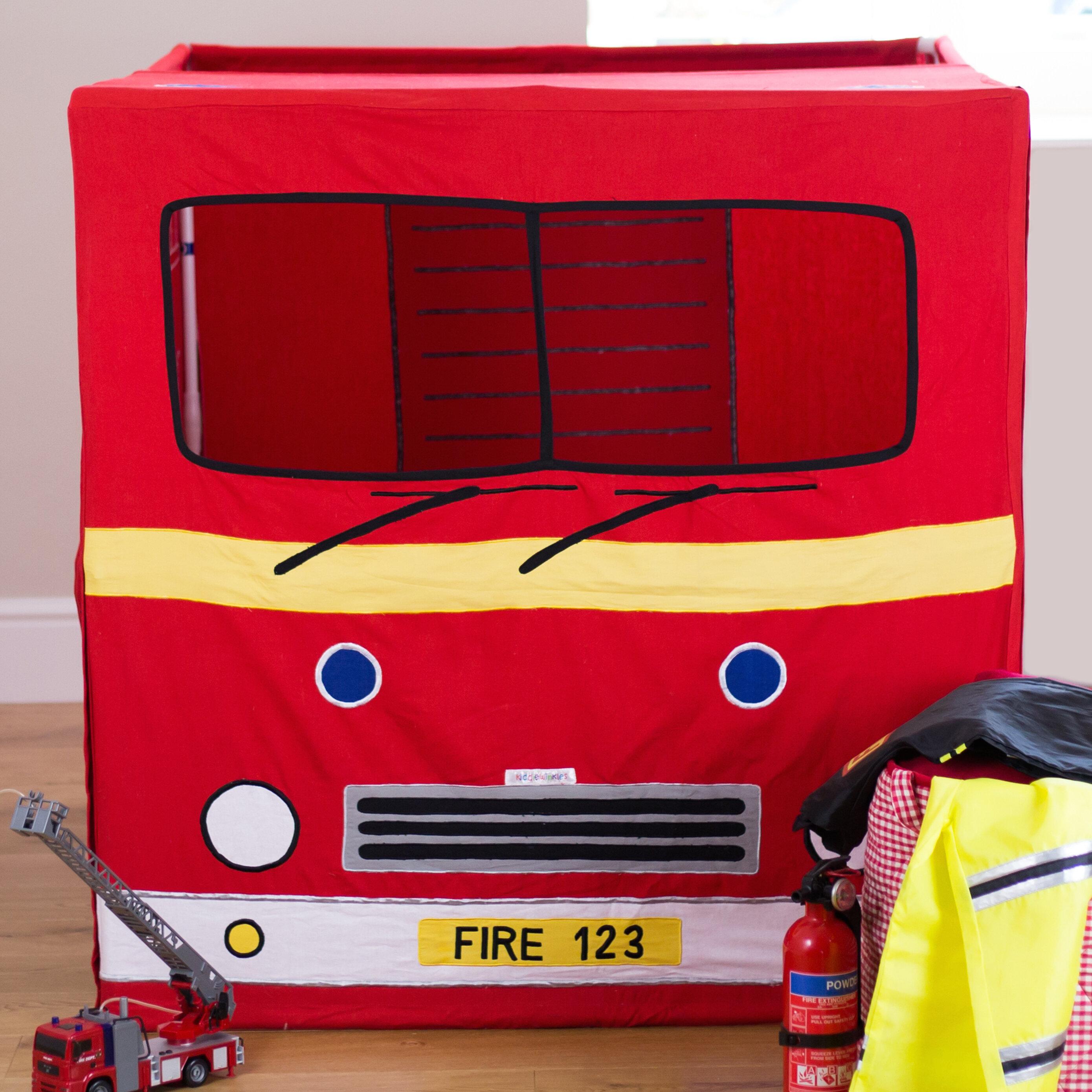 & Wrigglebox Fire Engine Play Tent u0026 Reviews | Wayfair.co.uk