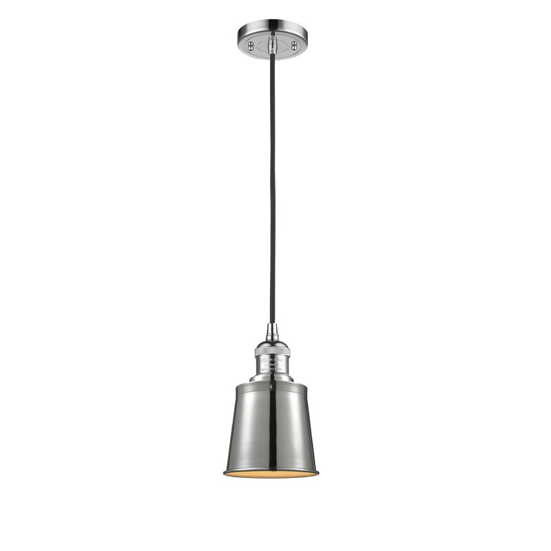 Three Posts Lavender Hill 1 Light Single Bell Pendant Reviews Wayfair