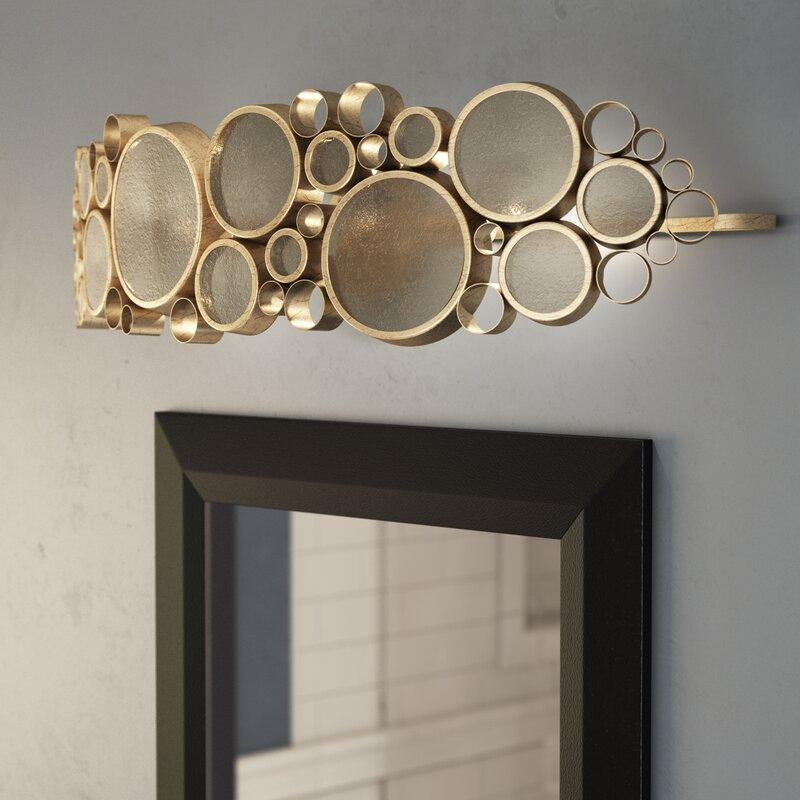 Brayden Studio Thome 3 Light Vanity Light Reviews Wayfair
