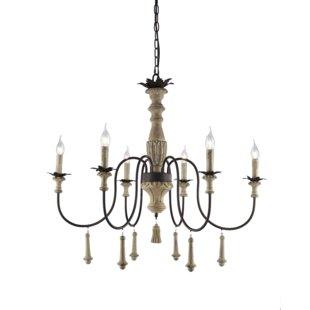 Ophelia & Co. Bertrand 6-Light Chandelier