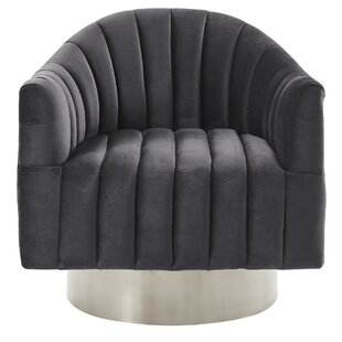 Lachapelle Swivel Barrel Chair