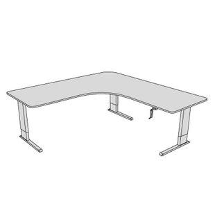 Maciejewski L-Shape Corner Desk