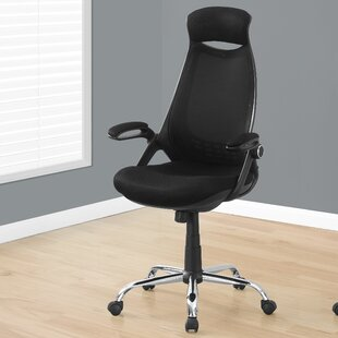 Monarch Specialties Inc. Leon High-Back Mesh Executive Chair