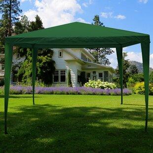 Kirklin 3 X 3m Metal Pop-Up Party Tent By Sol 72 Outdoor