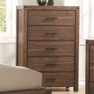 Foundry Select Birch Hill 5 Drawer Chest