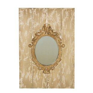 Manor Luxe Somerset Baroque Board and Decorative Wall Mirror