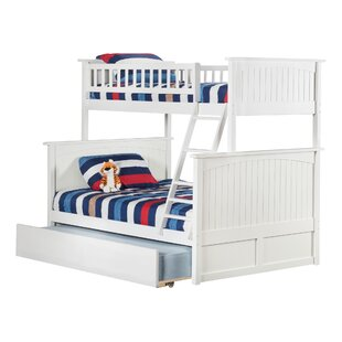 Best Choices Abbie Twin Over Full Standard Bed with Trundle by Harriet Bee Reviews (2019) & Buyer's Guide