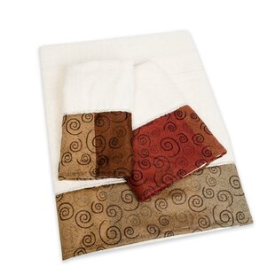 Miramar 3 Piece 100% Cotton Towel Set