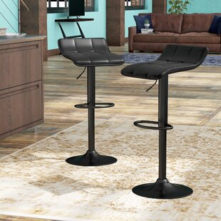 Yoder Adjustable Height Swivel Bar Stool ..