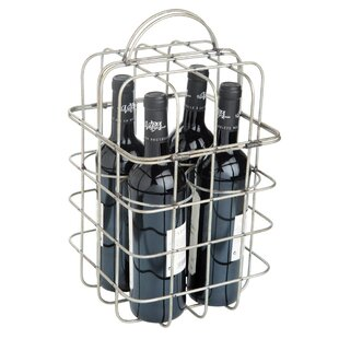 Wimberley Wire 4 Bottle Tabletop Wine Hol..