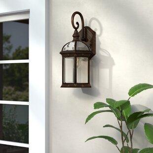 Three Posts Fairbank 1-Light Outdoor Wall Lantern