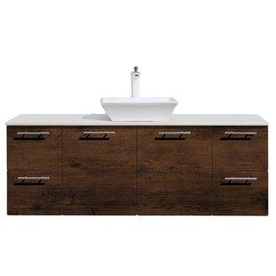 Wynne 60 Single Sink Bathroom Vanity with Top by Orren Ellis