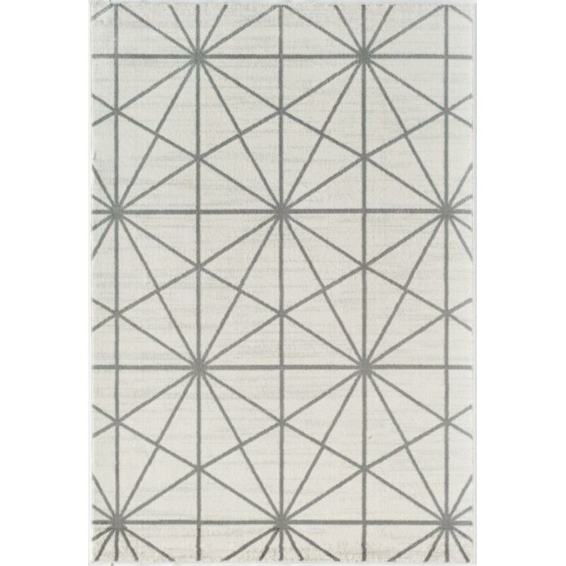 Little Seeds Serenity Passages Geometric White Area Rug Reviews Wayfair