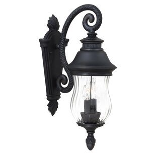 Compare prices Newport 2-Light Outdoor Wall Lantern By Minka Lavery