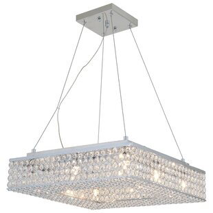 DVI Helsinki 8-Light Crystal Chandelier